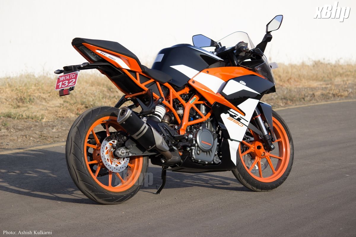 The Rc 390 From Ktm - Motorcycle Wallpaper