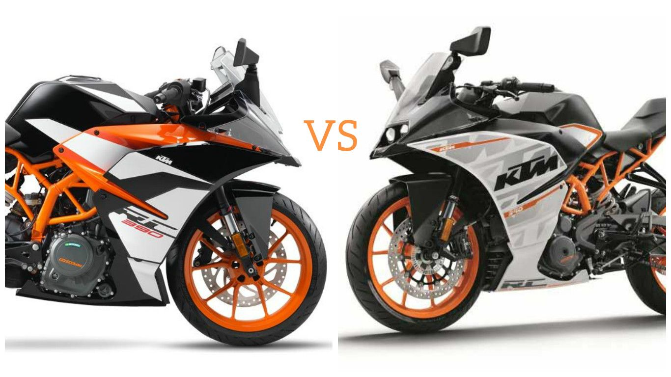 2017 KTM RC 390 vs Old KTM RC 390 – 5 Key Differences | Find New ...