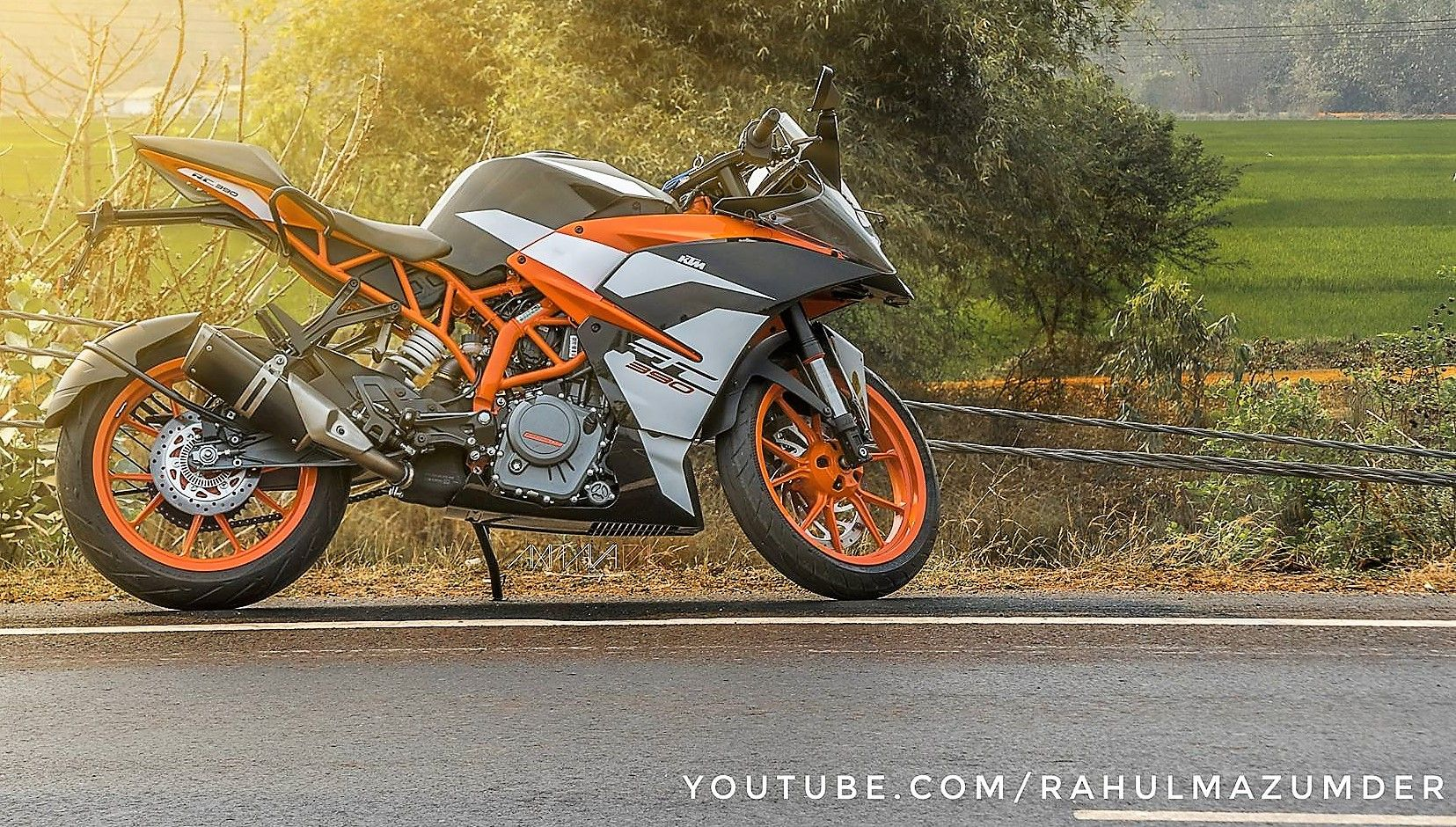 KTM RC 390 Ride Review (300 kms) by Rahul Mazumder