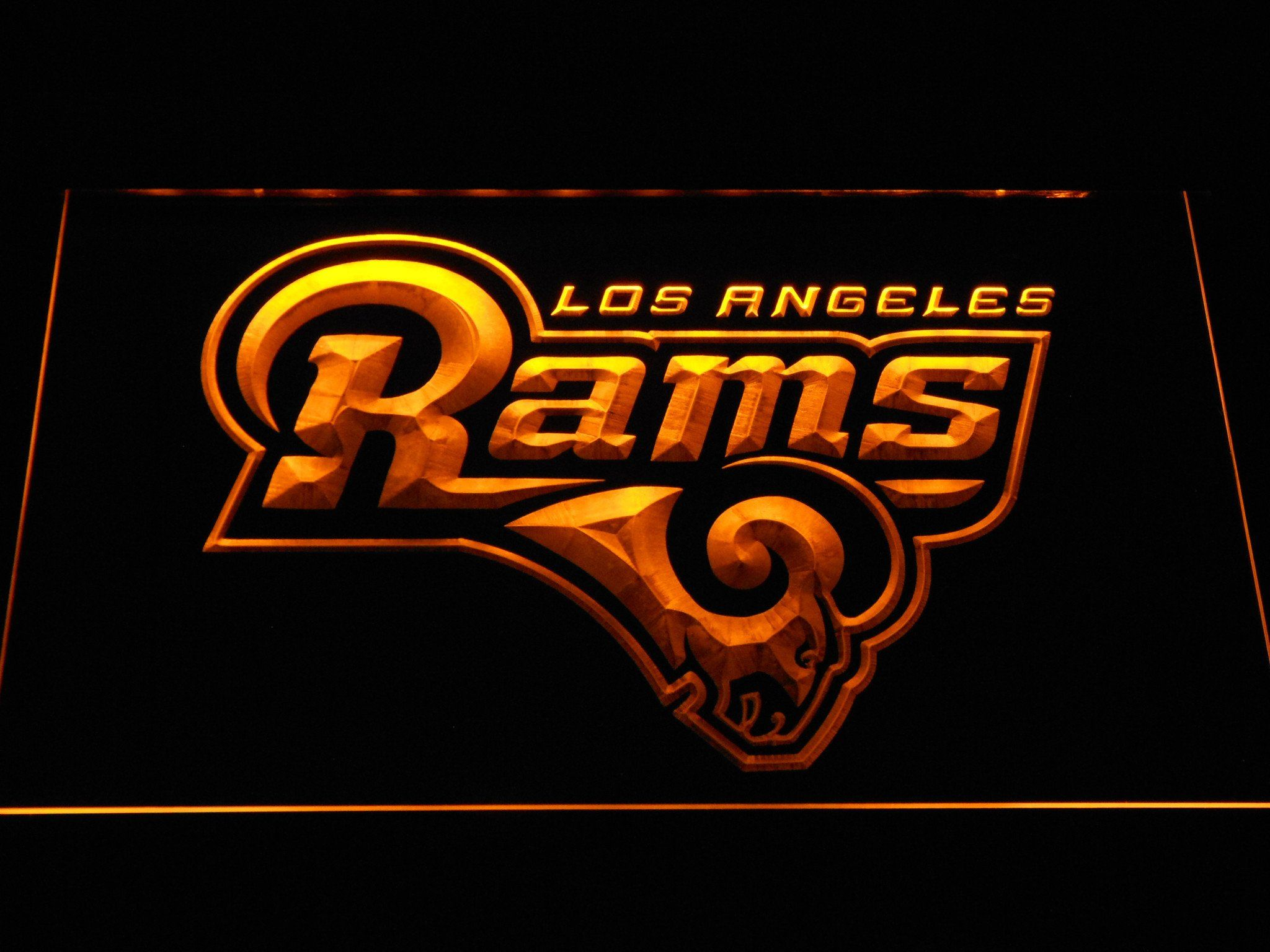 Los Angeles Rams LED Neon Sign | SafeSpecial