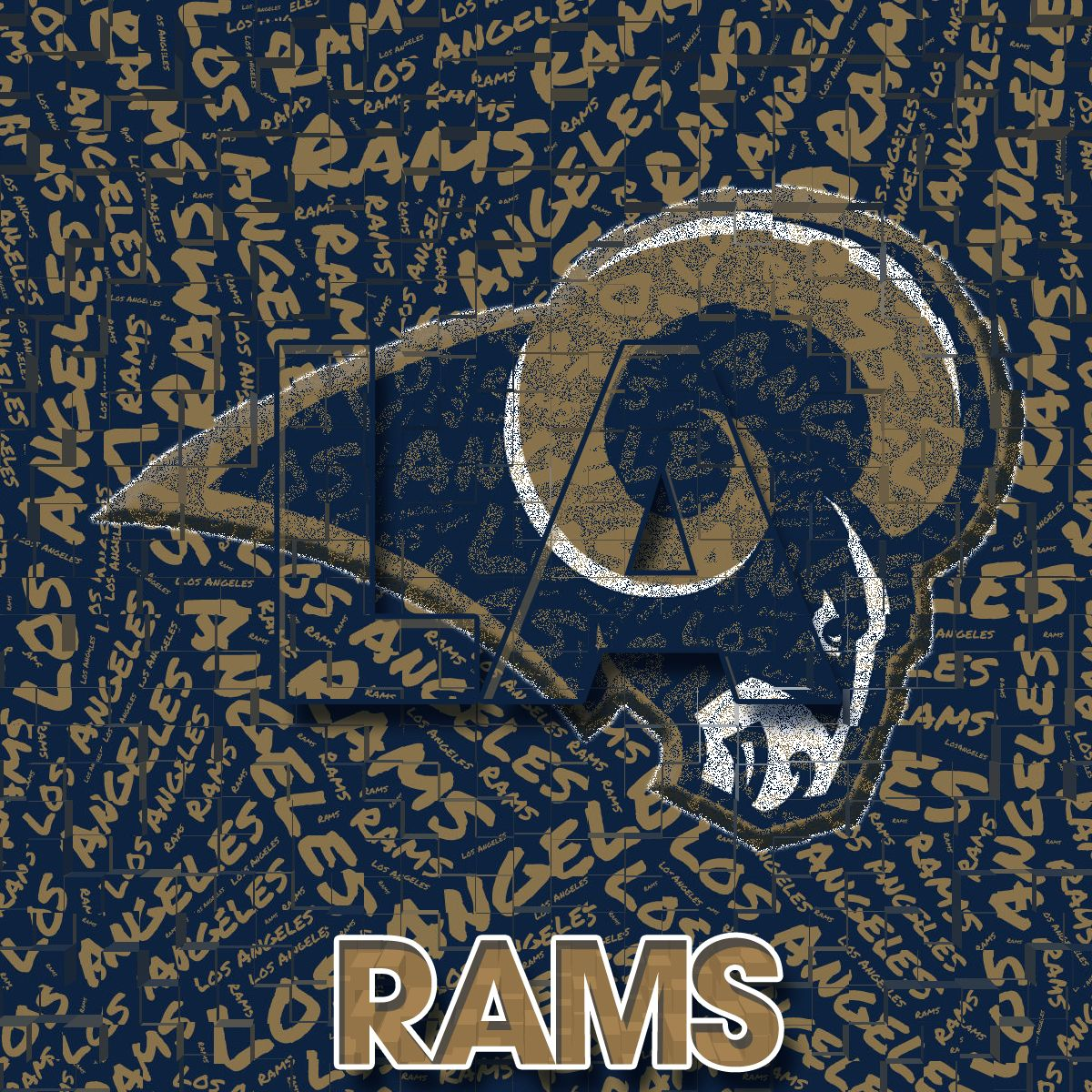 Los Angeles Rams by whostherawest on DeviantArt