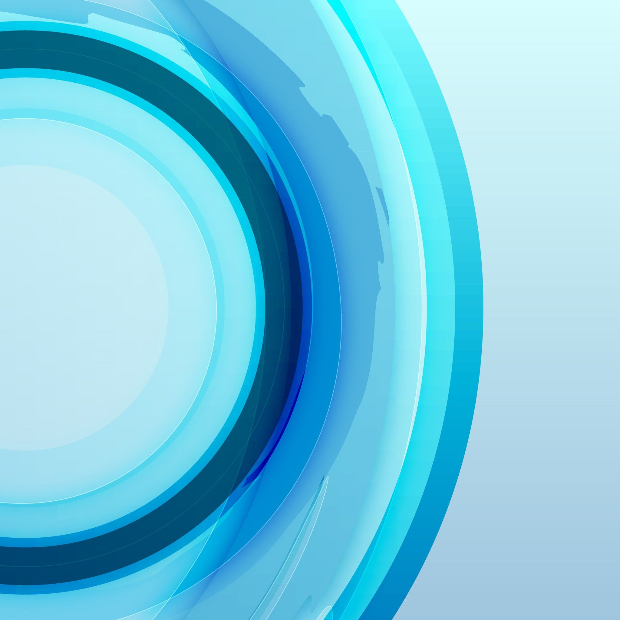 Abstract Blue Wallpaper - Cliparts.co