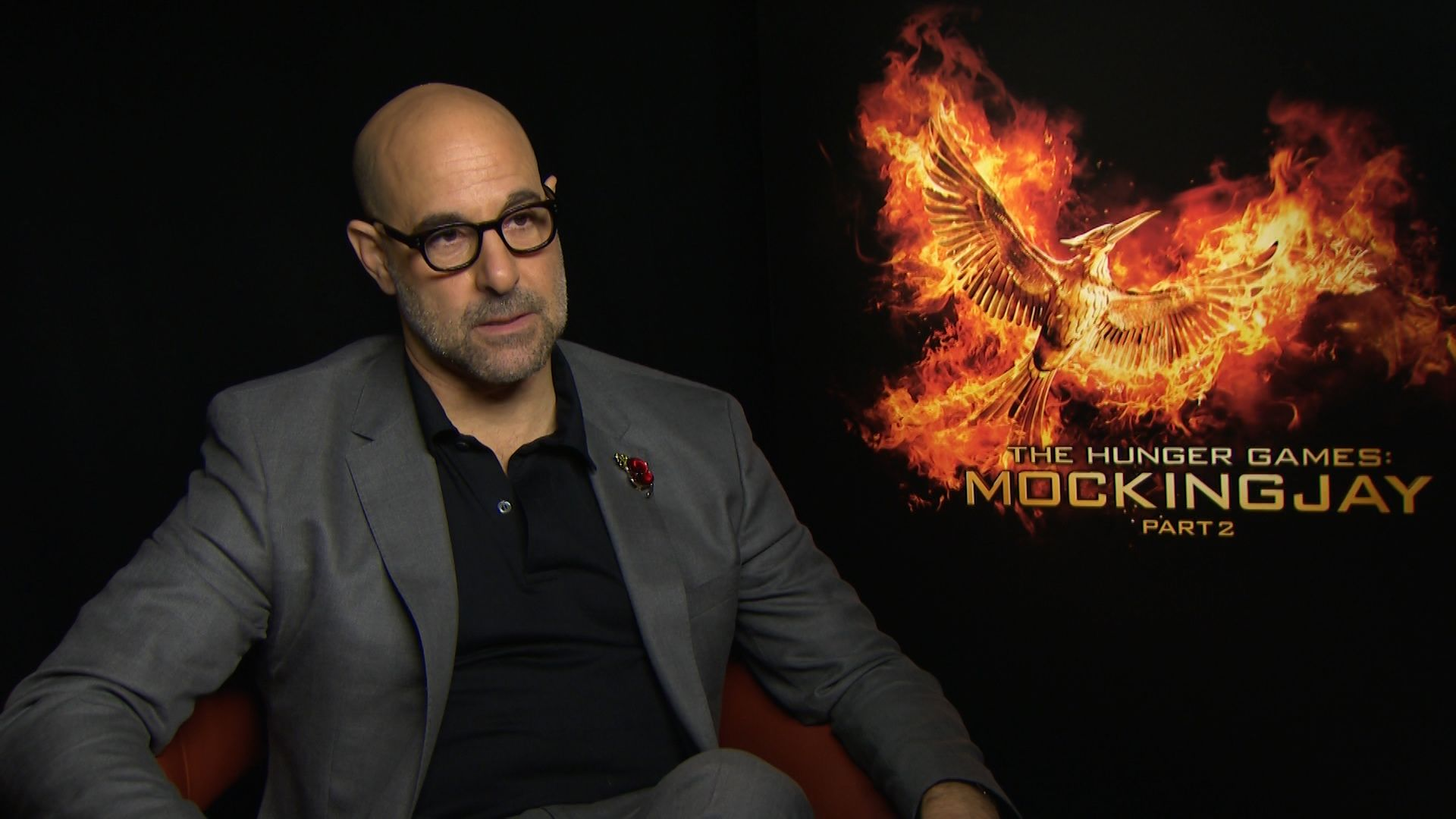 The Hunger Games Stanley Tucci - HeyUGuys