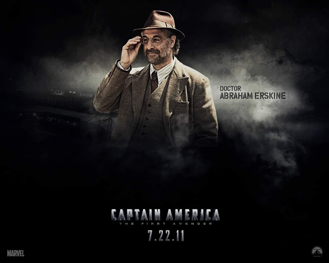 Captain America: The First Avenger / Stanley Tucci as Dr. Abraham ...
