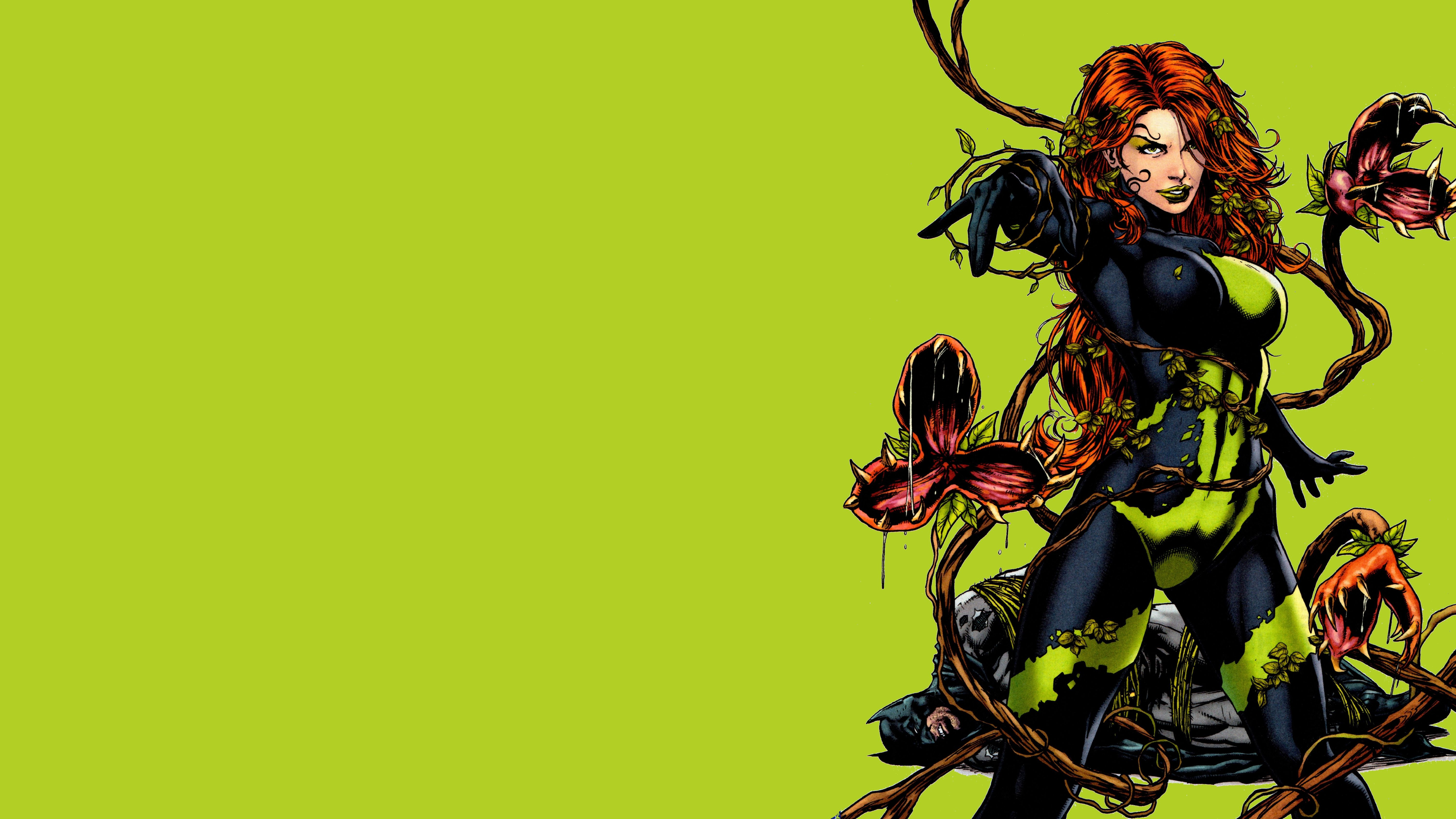Poison Ivy 5k Retina Ultra HD Wallpaper and Background | 6000x3375 ...