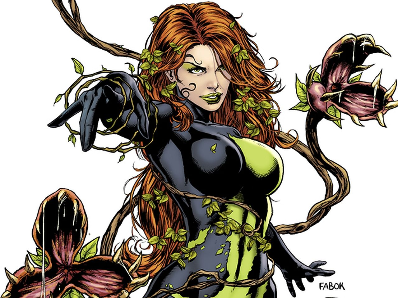 127 Poison Ivy HD Wallpapers | Backgrounds - Wallpaper Abyss - Page 5