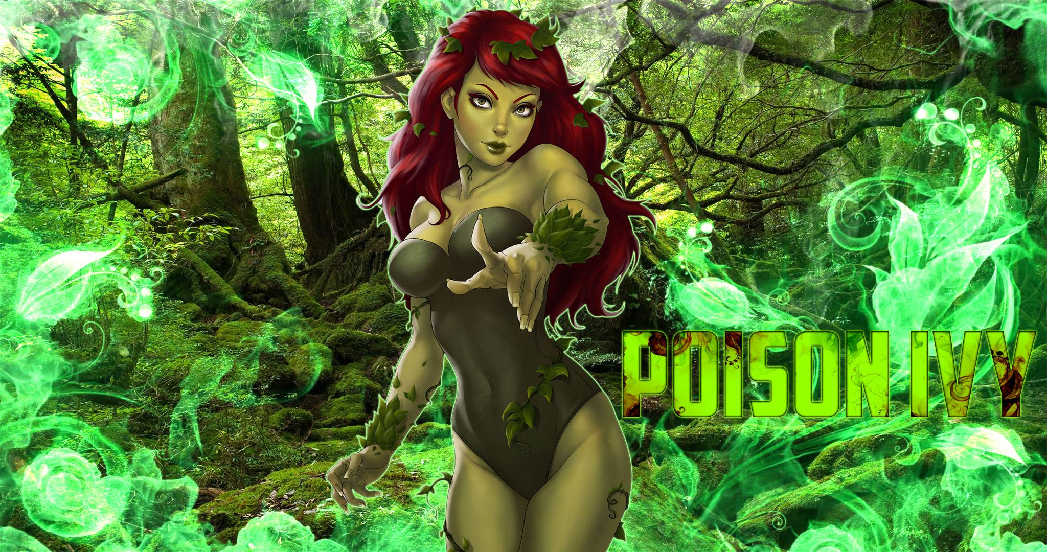 Poison Ivy Wallpapers Wsg125 | WallangSangit
