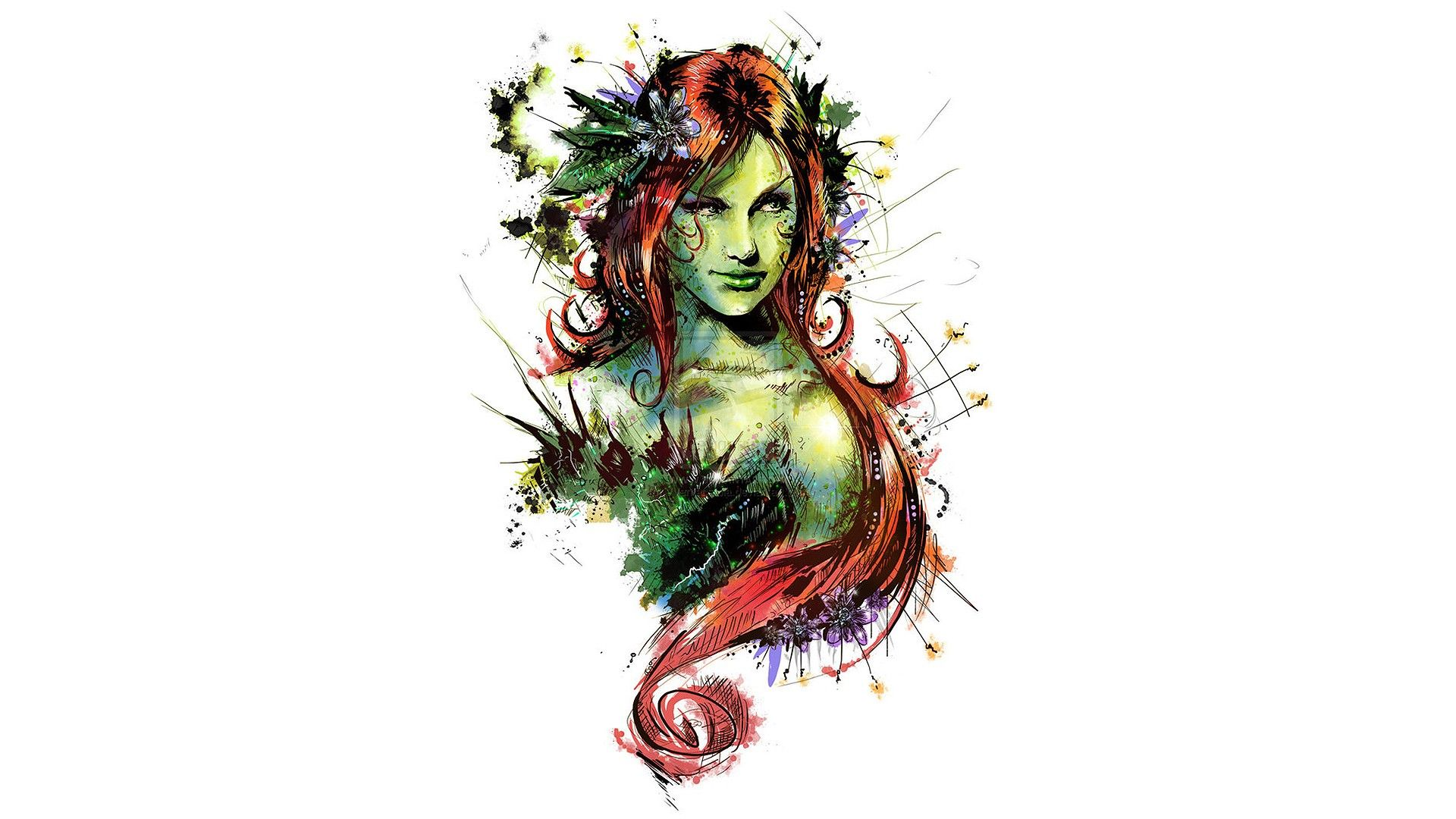 Poison Ivy Full HD Wallpaper and Background | 1920x1080 | ID:429891