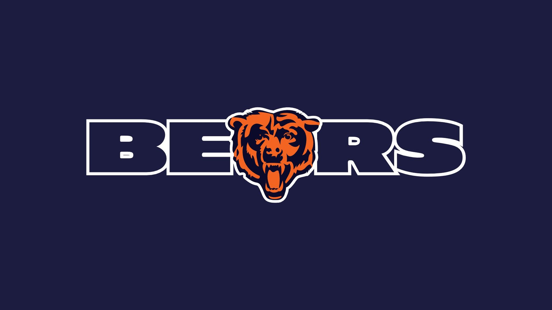 Chicago Bears Logo Wallpaper 44442 1920x1080 px ~ HDWallSource.com