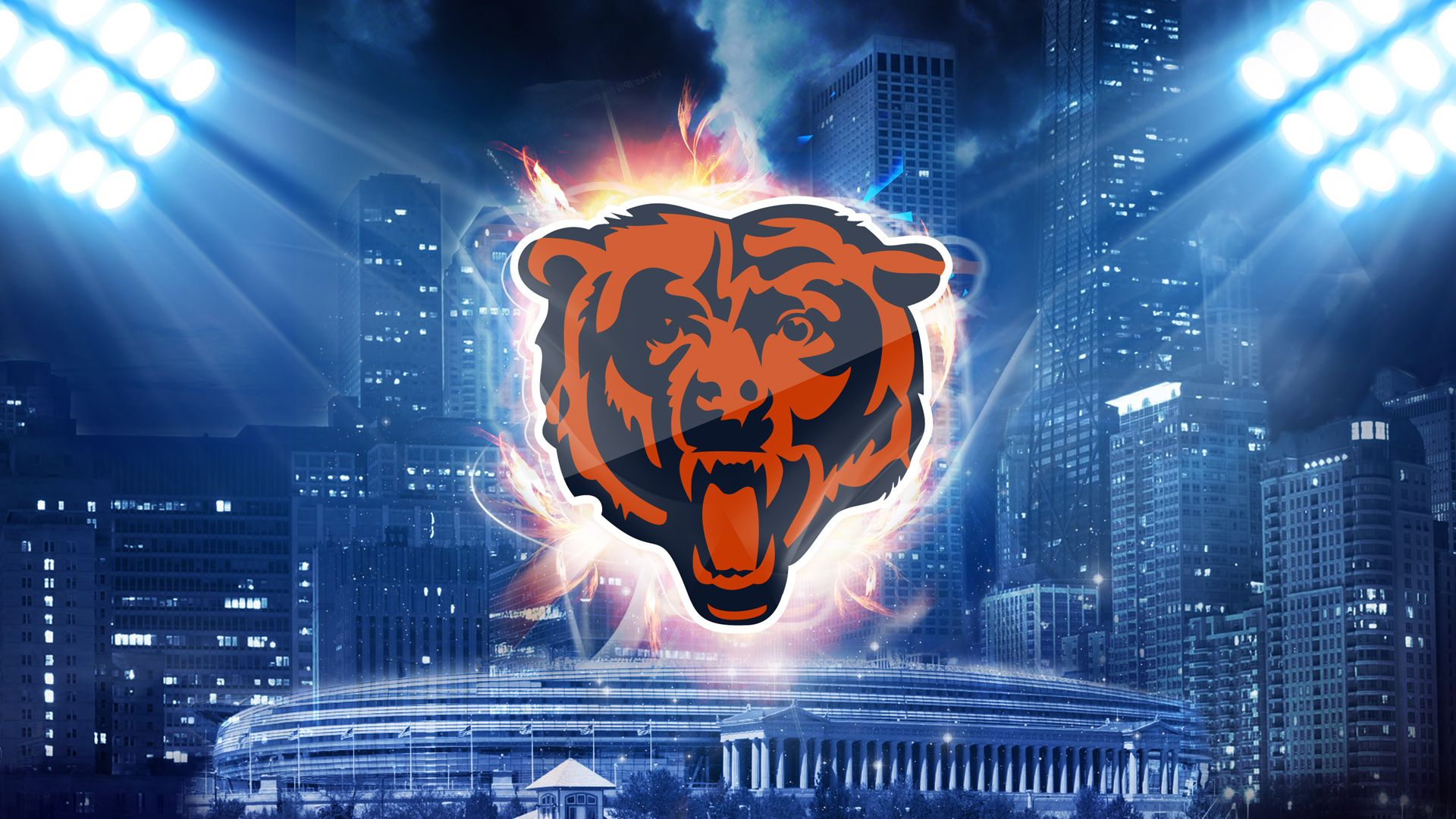 Chicago Bears Desktop Wallpaper 52903 1920x1080 px ~ HDWallSource.com