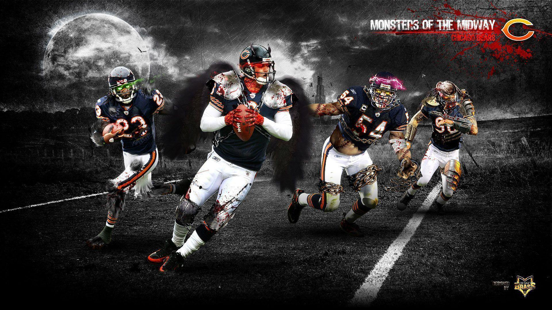 Chicago Bears Wallpaper For iPad | 1920×1080 HD - For Ipad Apps