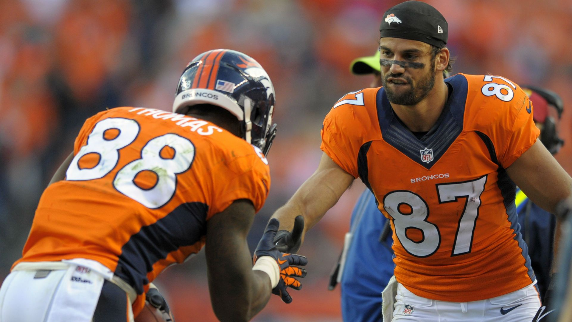 Demaryius Thomas And Eric Decker Wallpaper godstyle keywords and ...