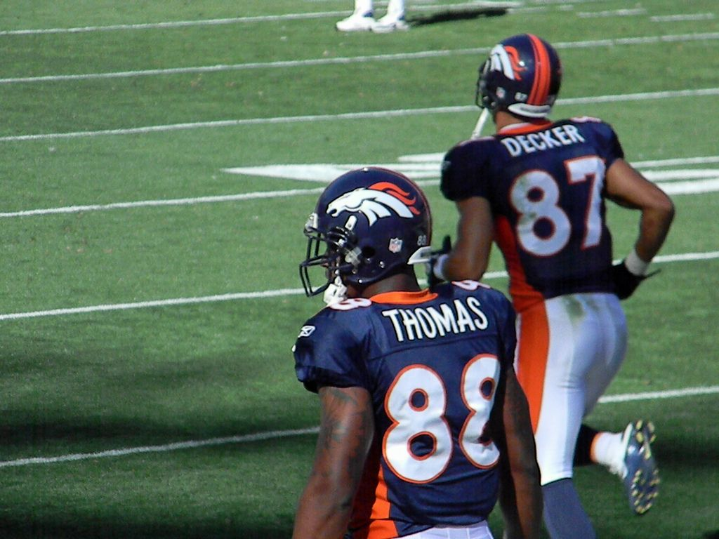 Demaryius Thomas and Eric Decker, 2010 Rookie WR's | Flickr