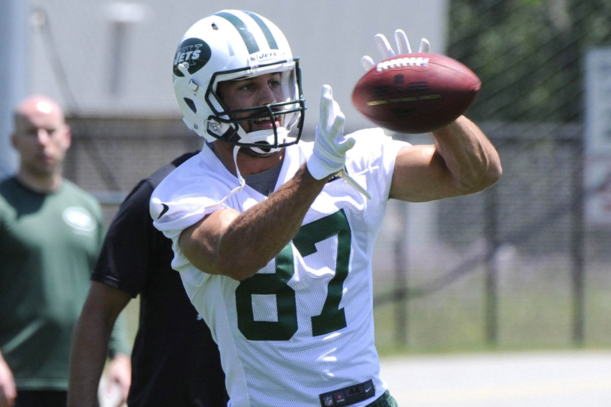 Eric Decker Jets Catch - wallpaper.