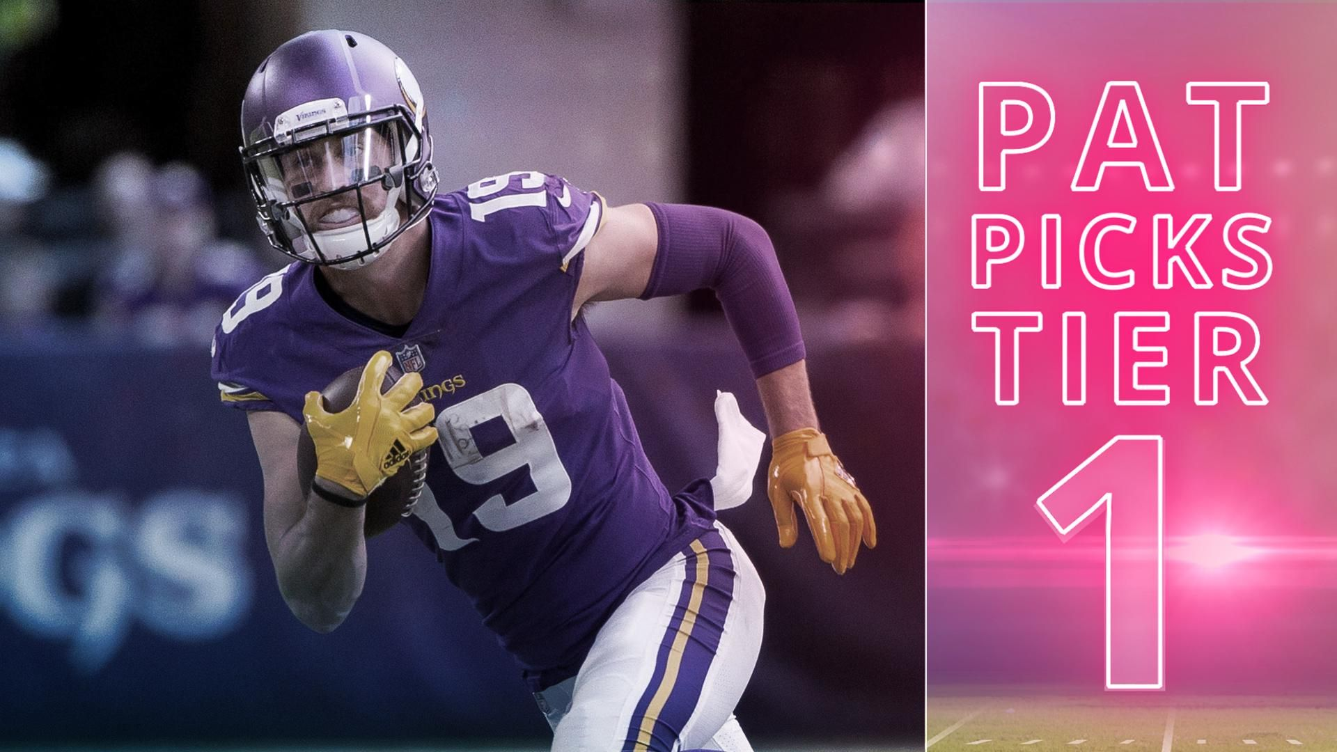 DKTV Is Adam Thielen the top play in Tier 1 this week on ...