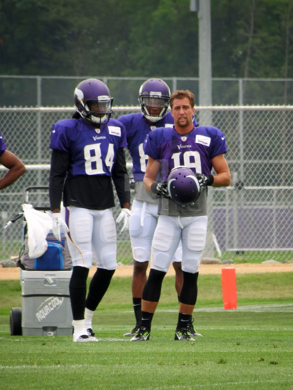 Cordarrelle Patterson and Adam Thielen by GrindhouseCinema on ...