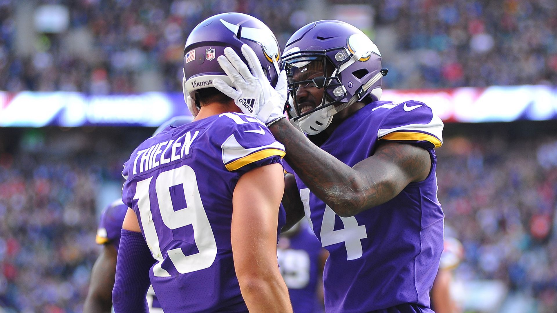How 'abusive' talk motivates Vikings receivers [Video]