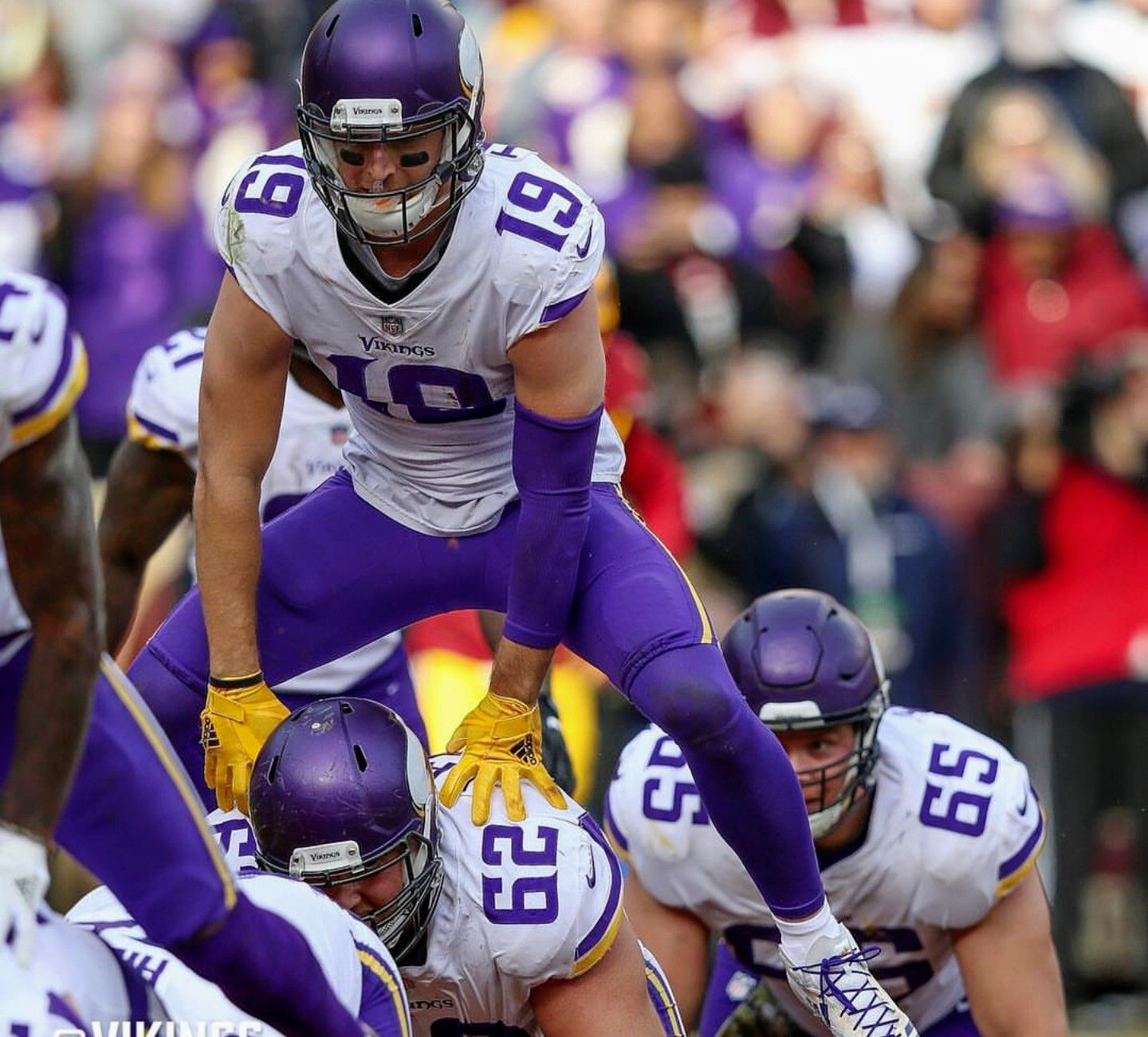 Adam Thielen TD leapfrog! Are you true Vikes Fan? This Vikings ...
