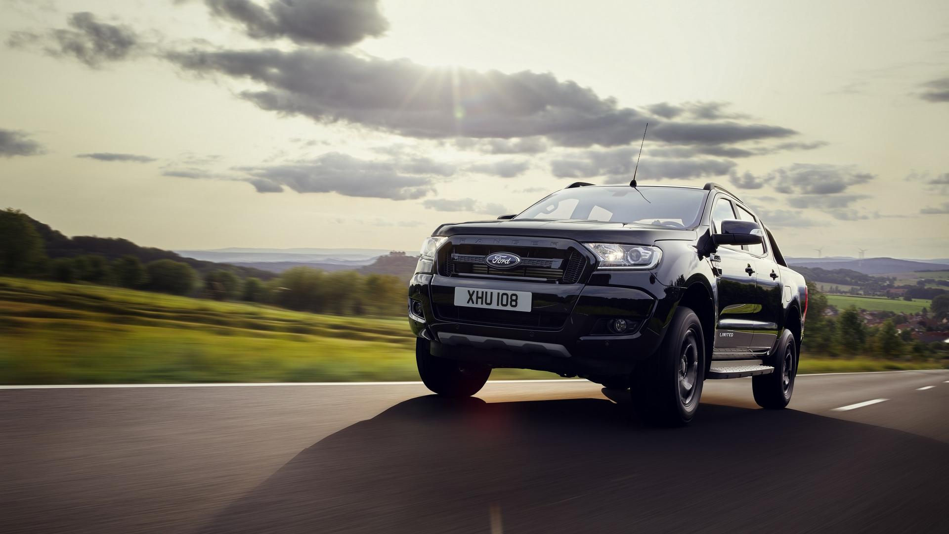 2018 Ford Ranger Black Edition Limited To 2,500 Units - autoevolution