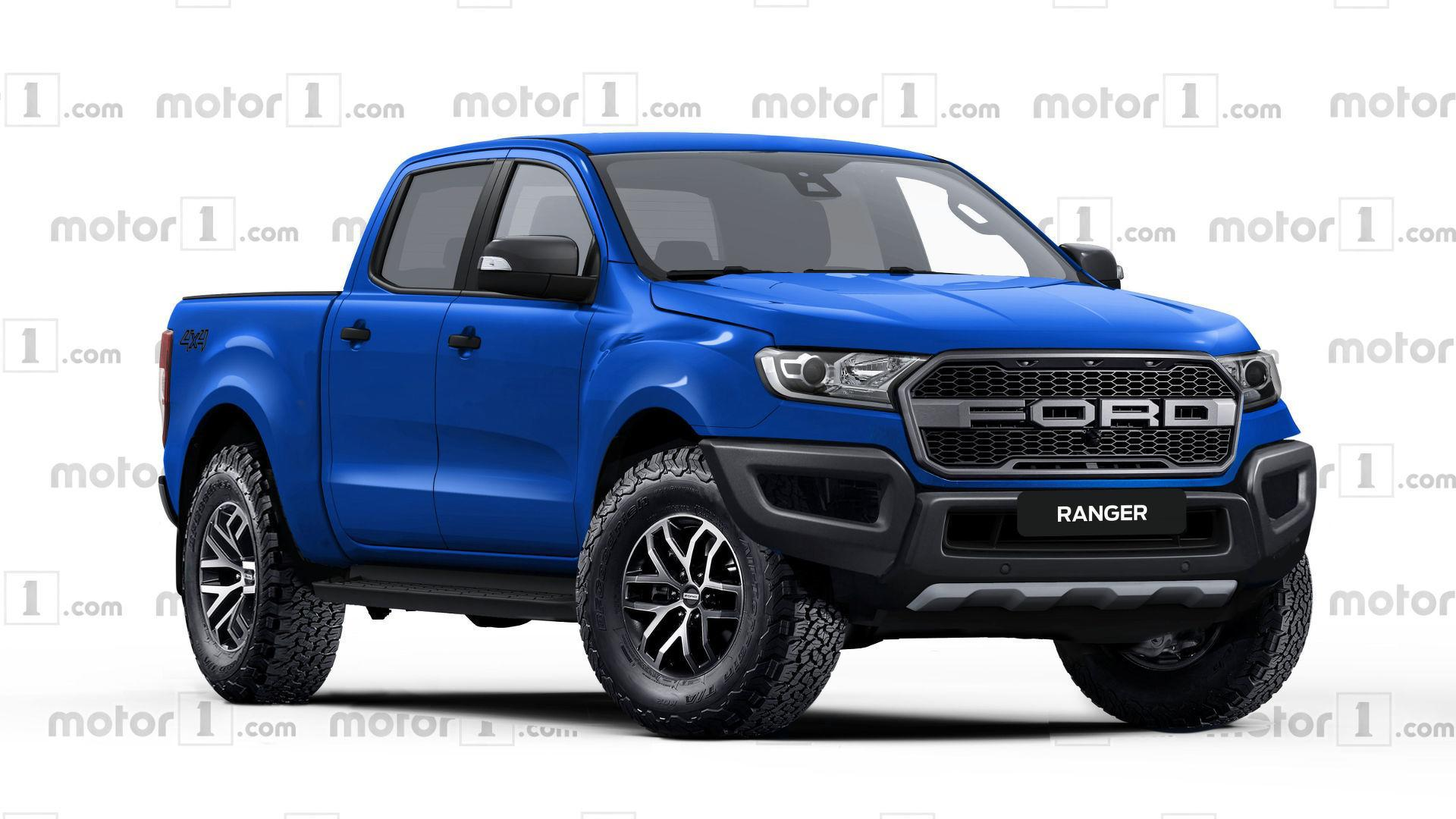 Ford Ranger Raptor Rendered Ready To Rival Colorado Zr2 Regarding ...