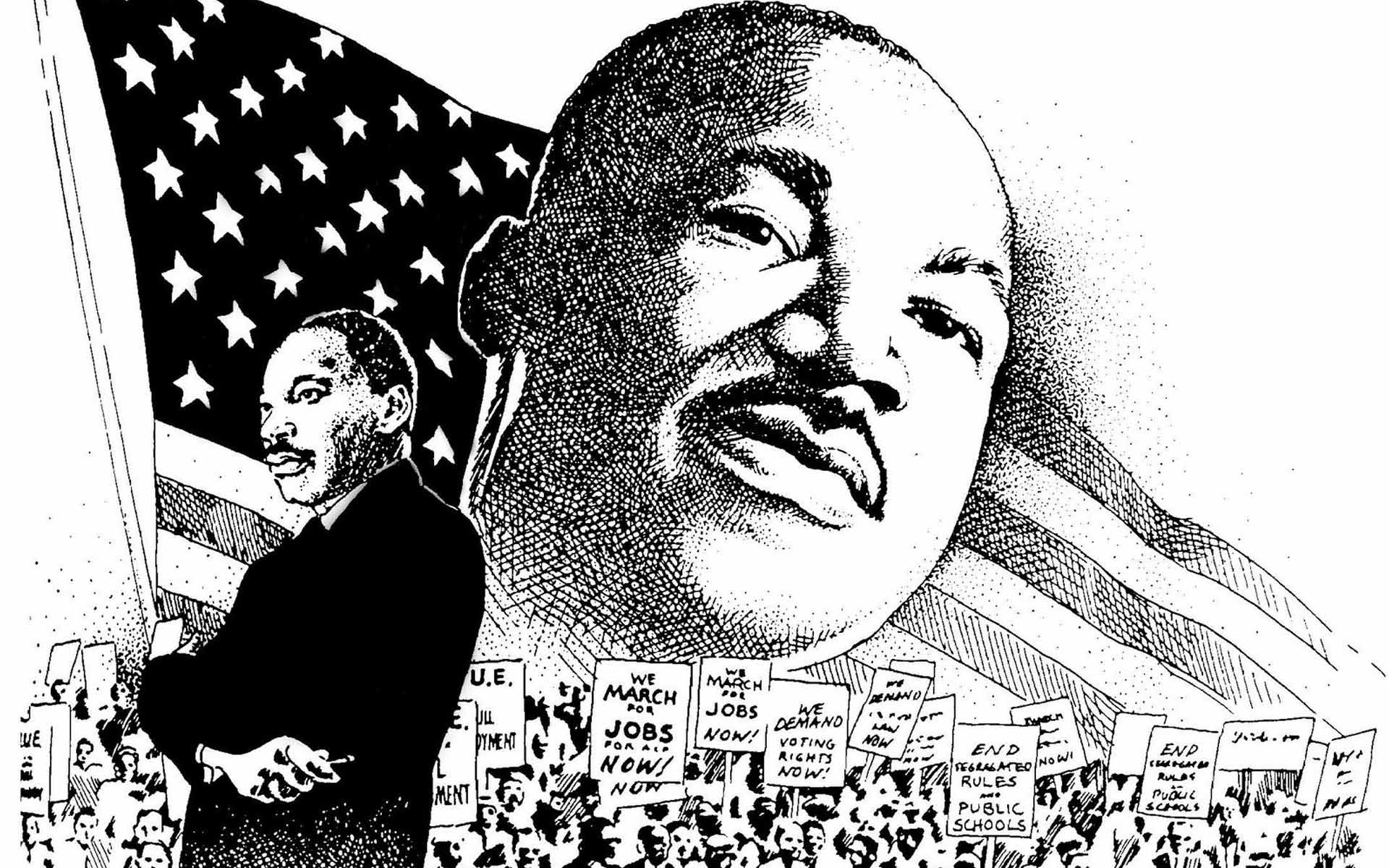 martin luther king photos free | Martin Luther King Jr Wallpaper ...