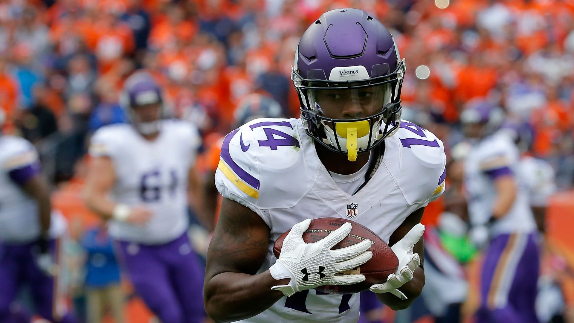 Vikings' Stefon Diggs making spectacular catches in late-start to ...