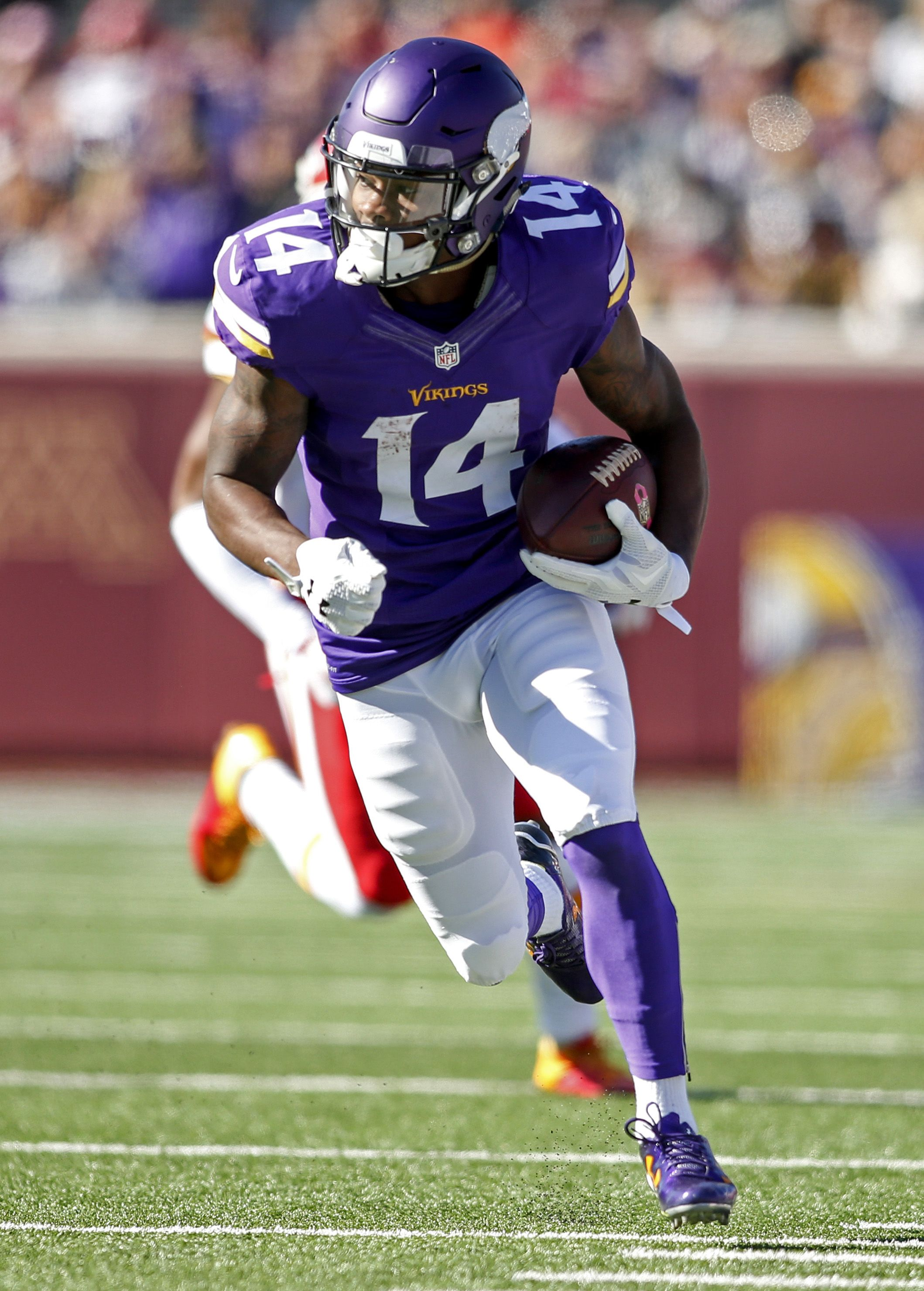 Stefon Diggs WR...Vikings https://www.fanprint.com/licenses ...
