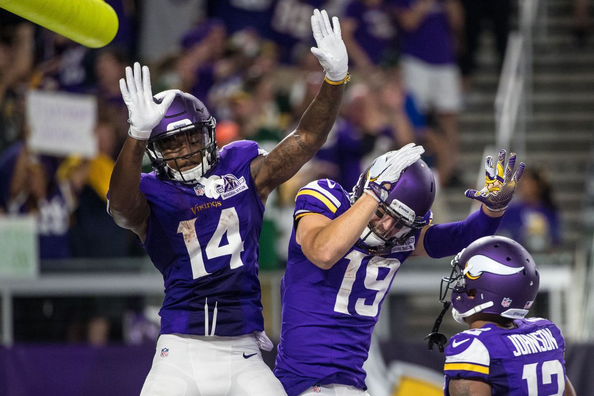 Stefon Diggs, Adam Thielen, And The Race To 1,000 - Daily Norseman