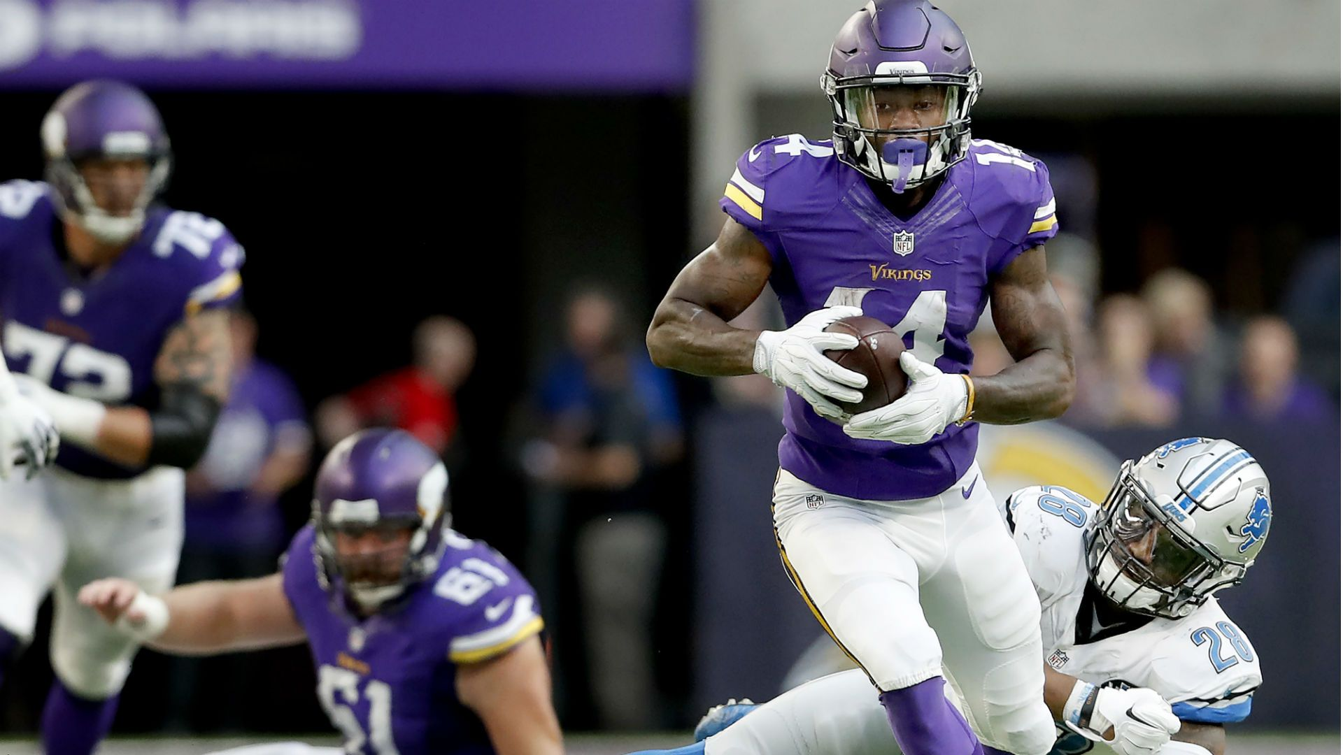 The 17 most important Vikings in 2017: No. 8, WR Stefon Diggs ...