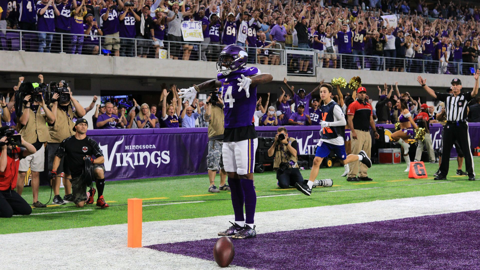 If Vikings win big in 2017, remember the spark Stefon Diggs ...