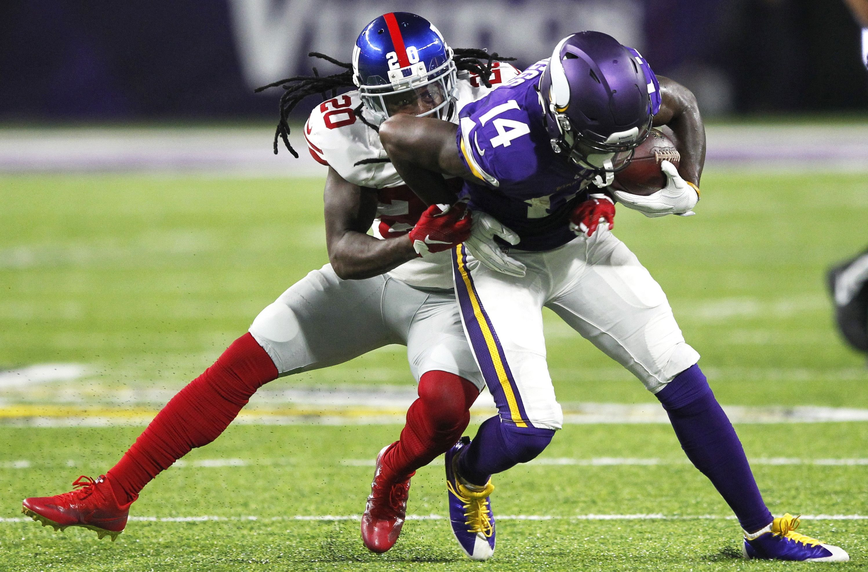 Vikings: Stefon Diggs doubtful, Andre Smith out