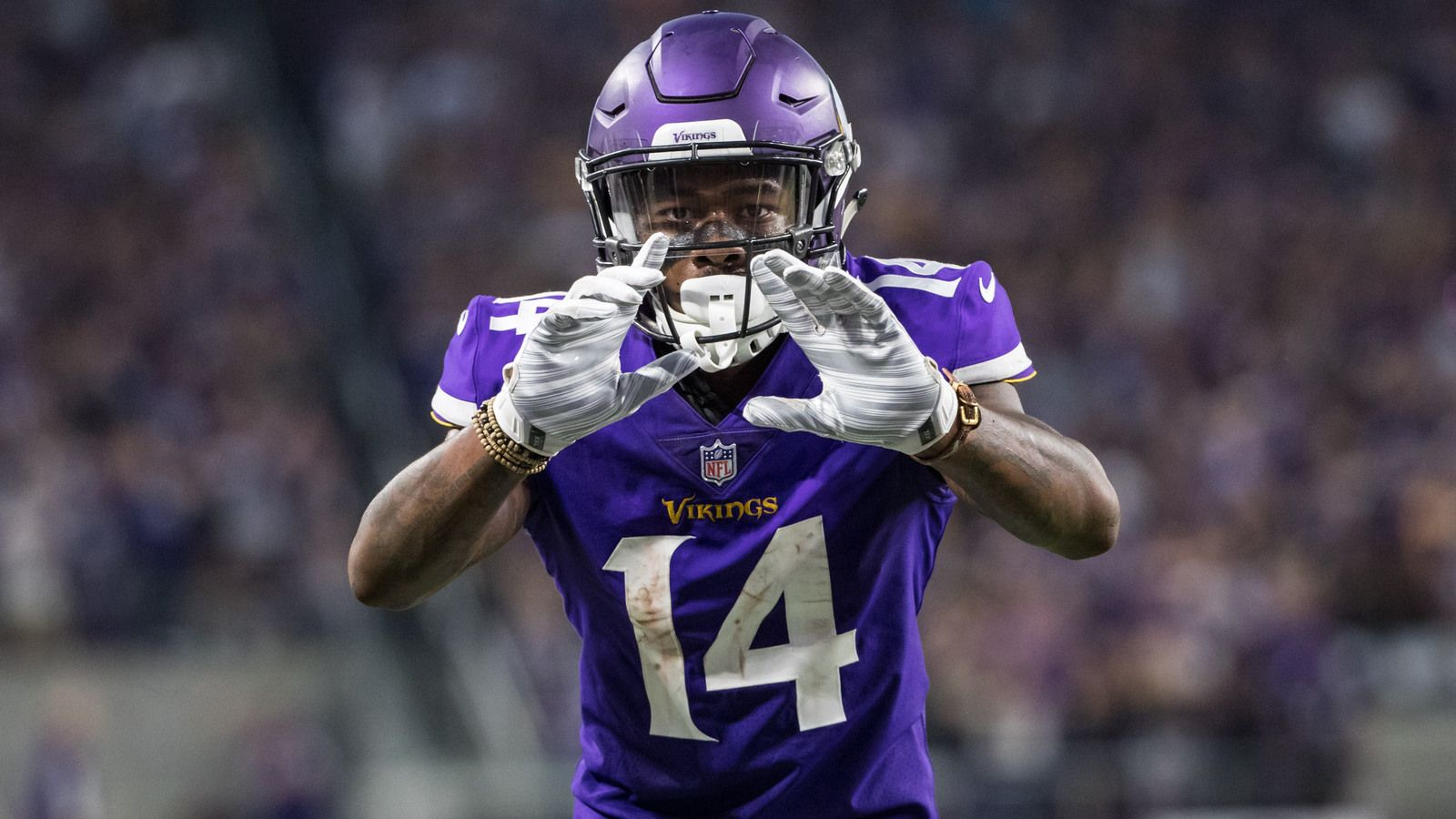 Stefon Diggs punts ball into stands after scoring TD – The Sports News