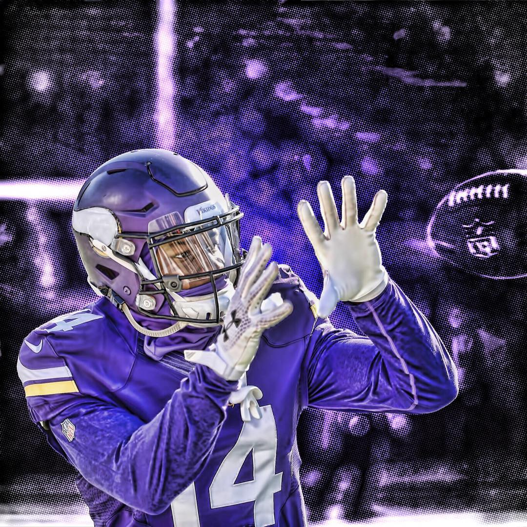 minnesota vikings sports stefon diggs on Instagram