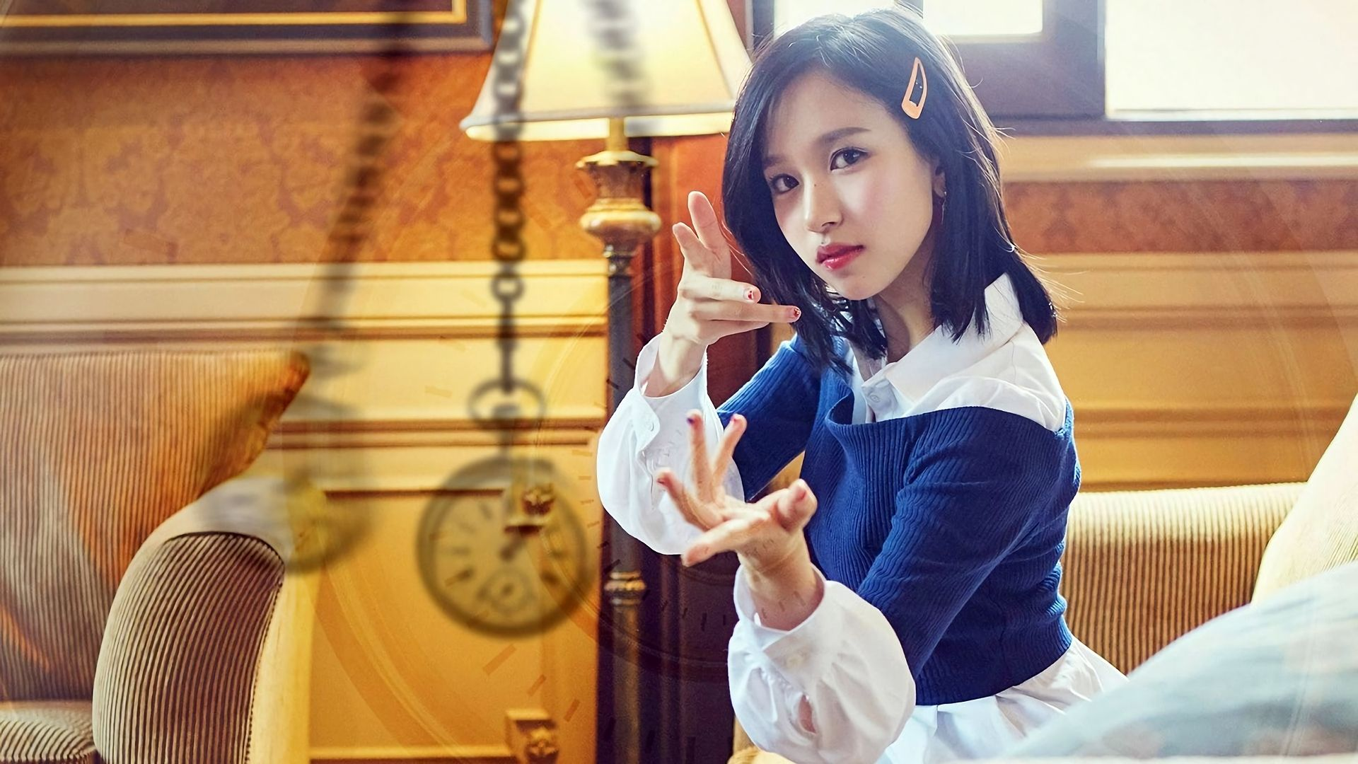 Mina TWICE Signal K-Pop Girl Wallpaper #41349