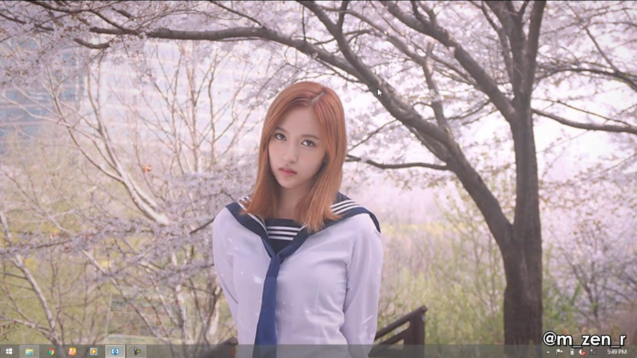 Mina - The Reason Why Spring Comes (Wallpaper Engine) - YouTube