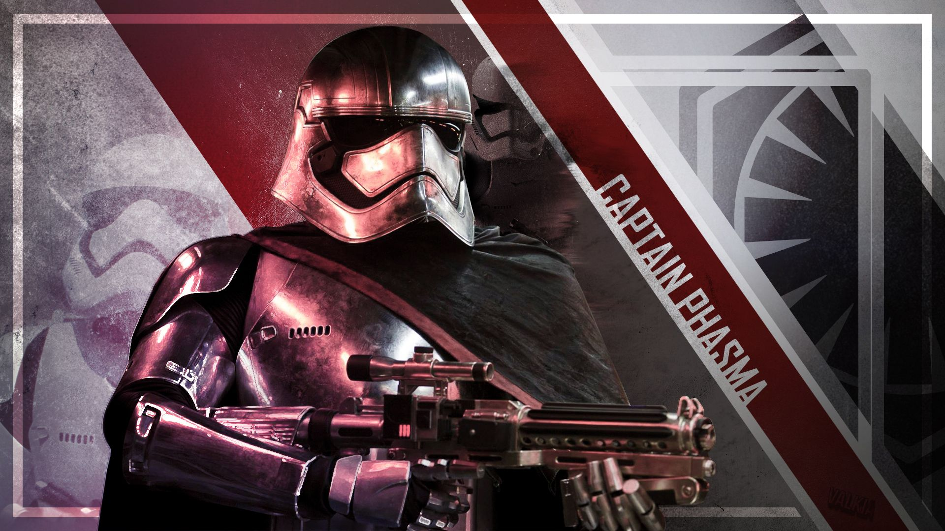 Captain Phasma Wallpaper (1920x1080) by Valkia - Imgur