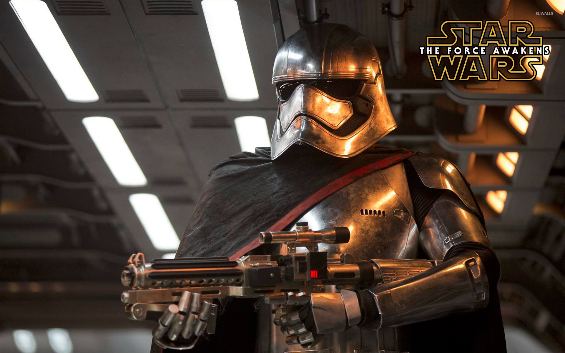 Captain Phasma in Star Wars: The Force Awakens wallpaper - Movie ...