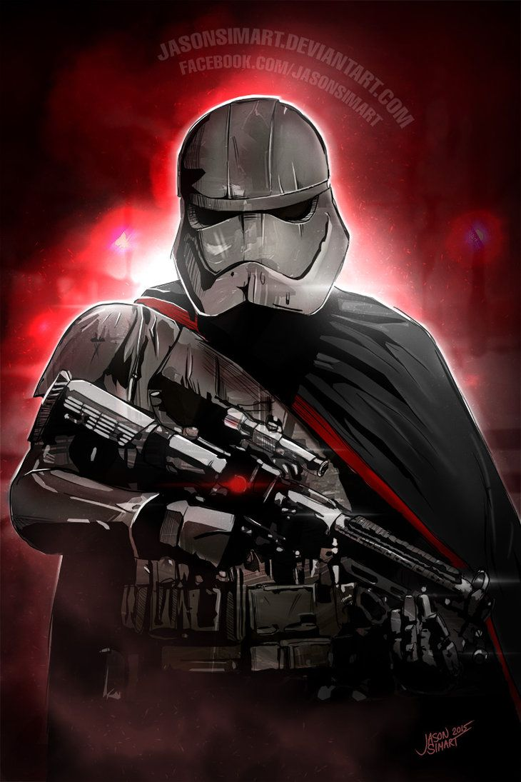 Captain Phasma by JasonsimArt on DeviantArt