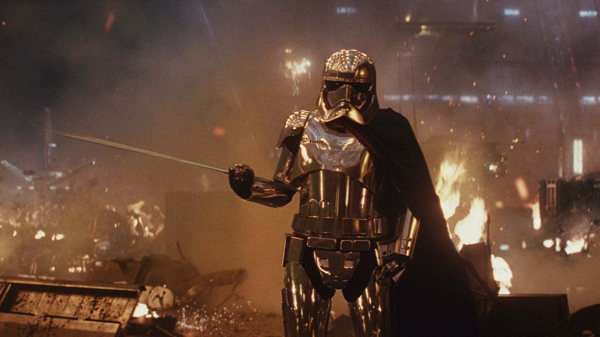 Captain Phasma Full HD Wallpaper and Background | 1920x1080 | ID ...