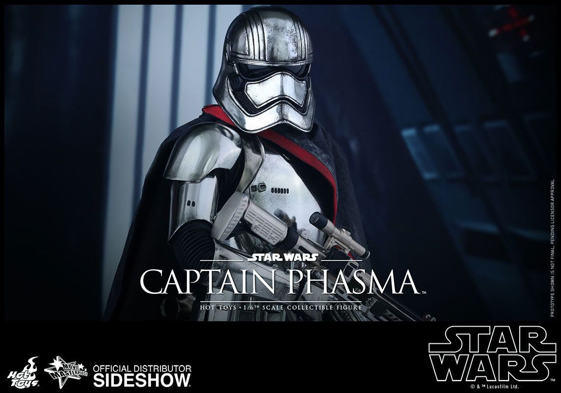 Star Wars Captain Phasma Sixth Scale Figure by Hot Toys | Sideshow ...