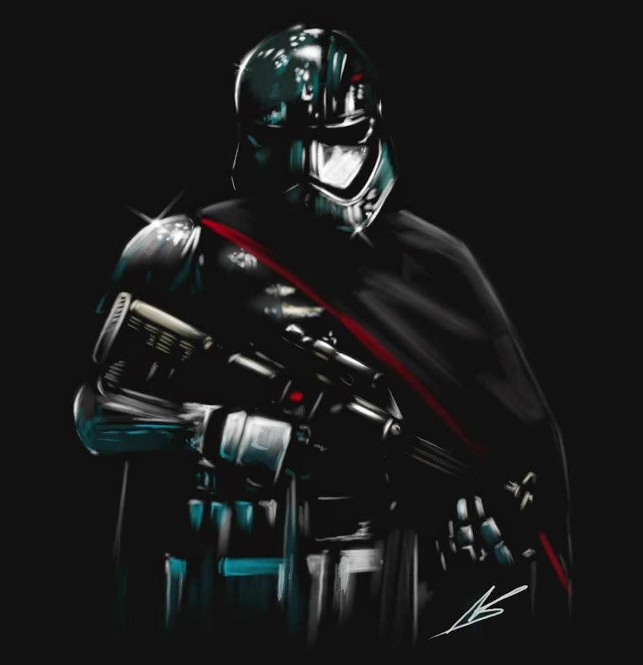 Pin by alemenemiao on Capitan Phasma | Pinterest