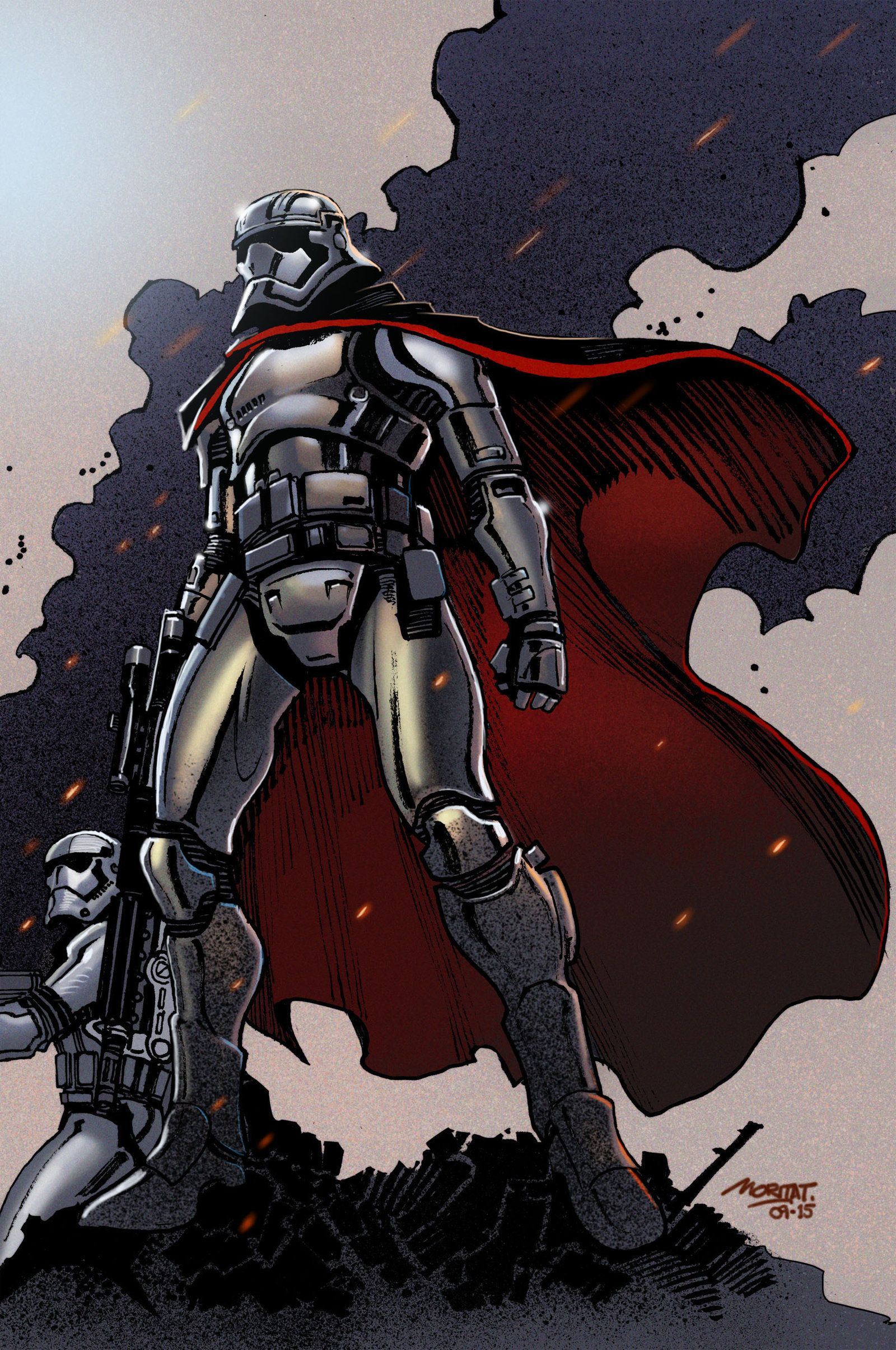 Captain Phasma by moritat on DeviantArt