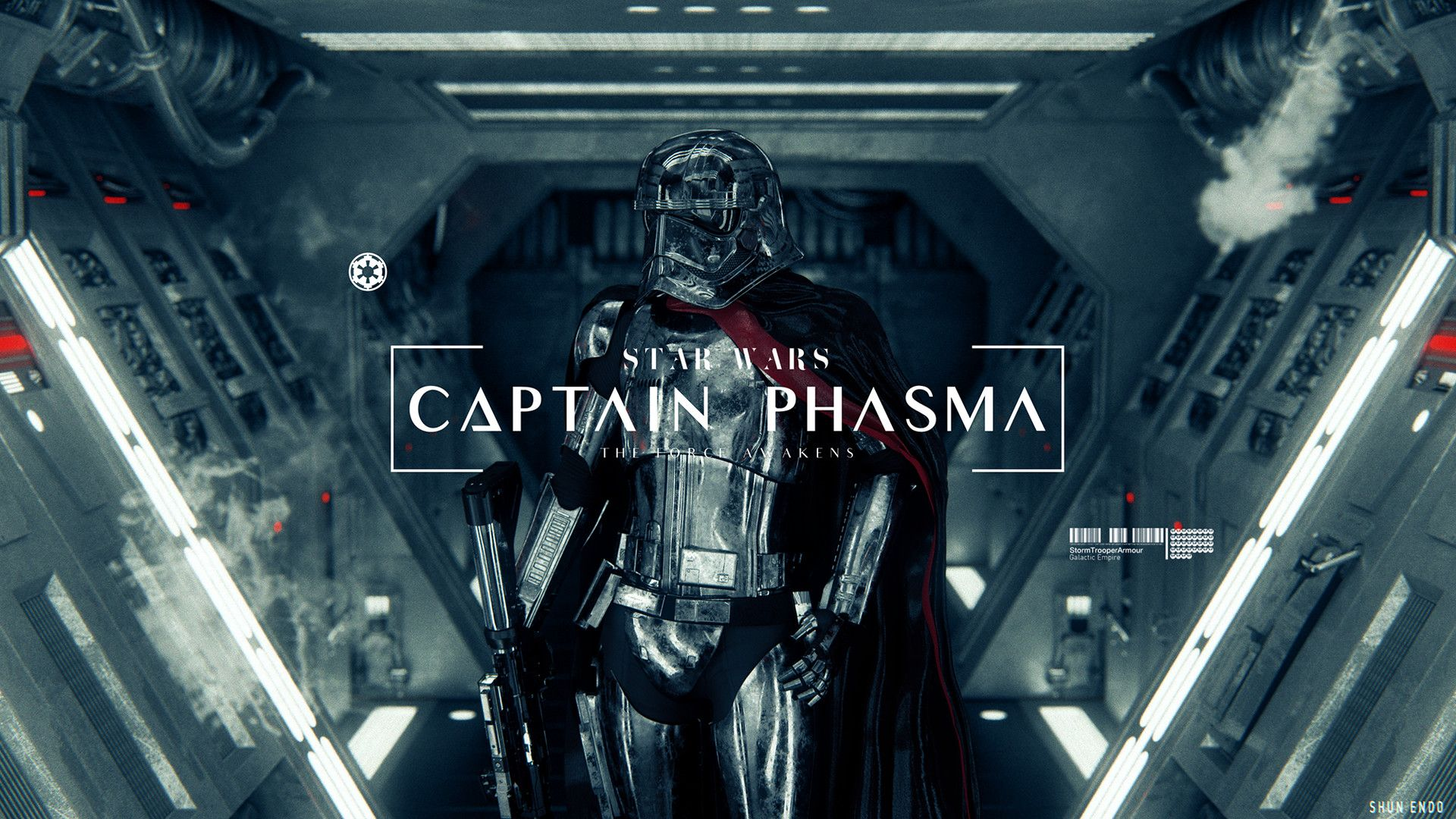 shun endo - Captain Phasma
