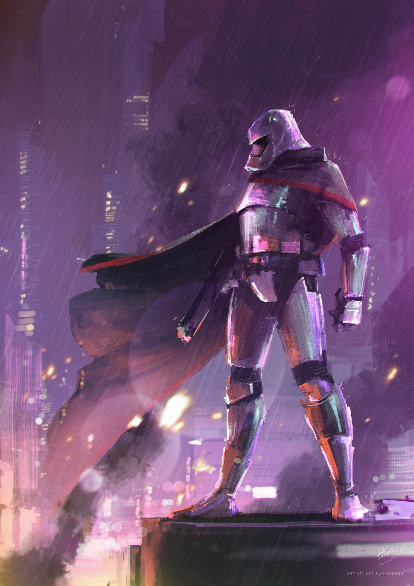 Captain Phasma by Lap Pun Cheung : StarWars