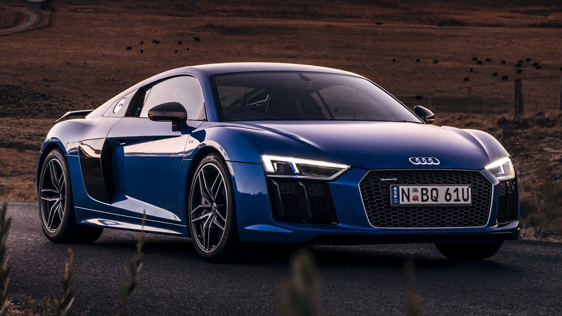 Tag For Audi r8 v10 plus black wallpaper hd : Daytona Grey Pearl ...