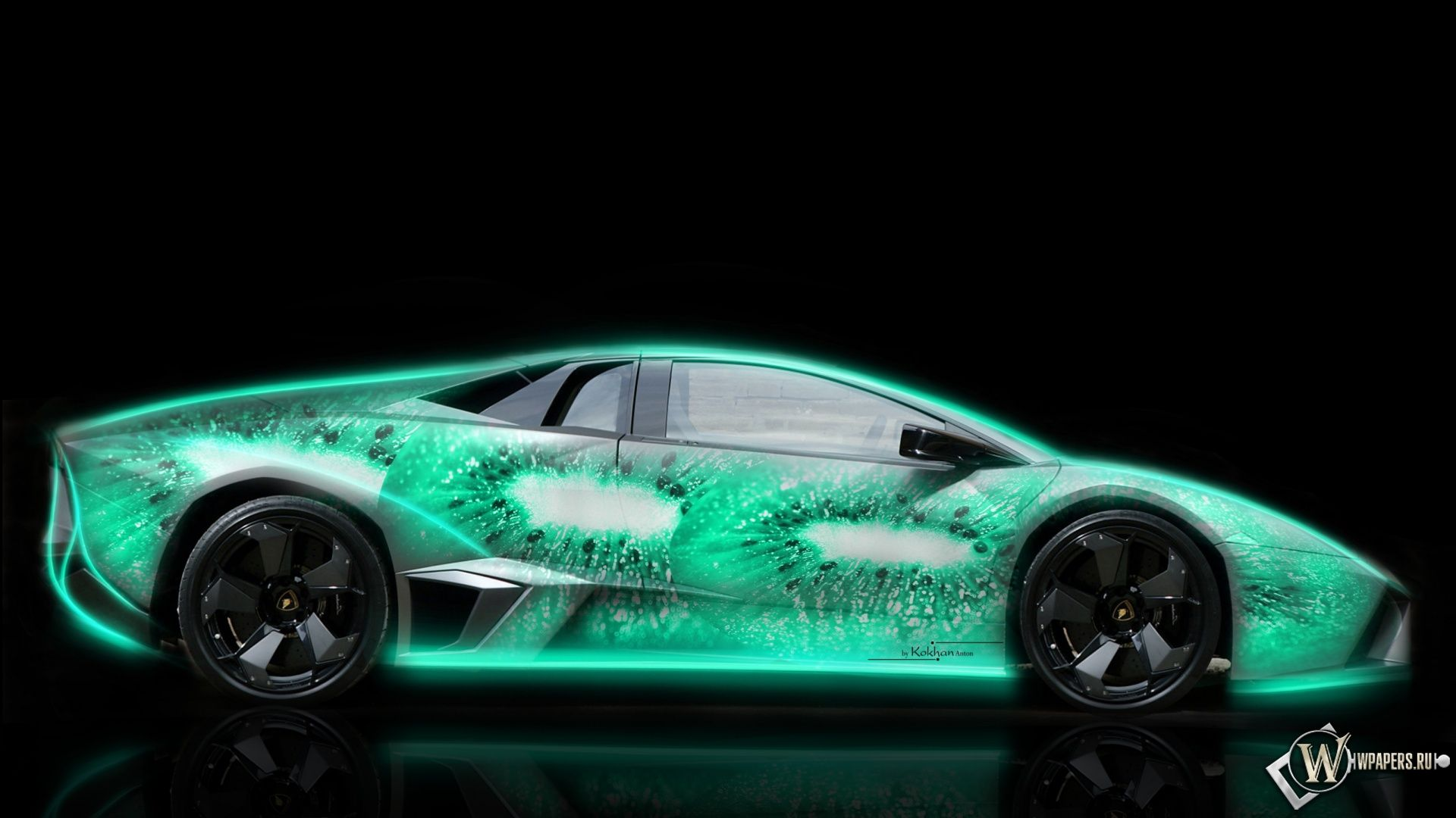 Lamborghini With Neon Lights And Flames: Lamborghini gallardo ...