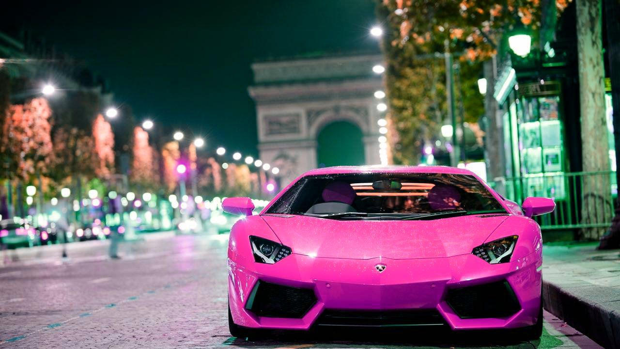 Pink And Black Lamborghini Wallpaper 17 Hd Wallpaper ...
