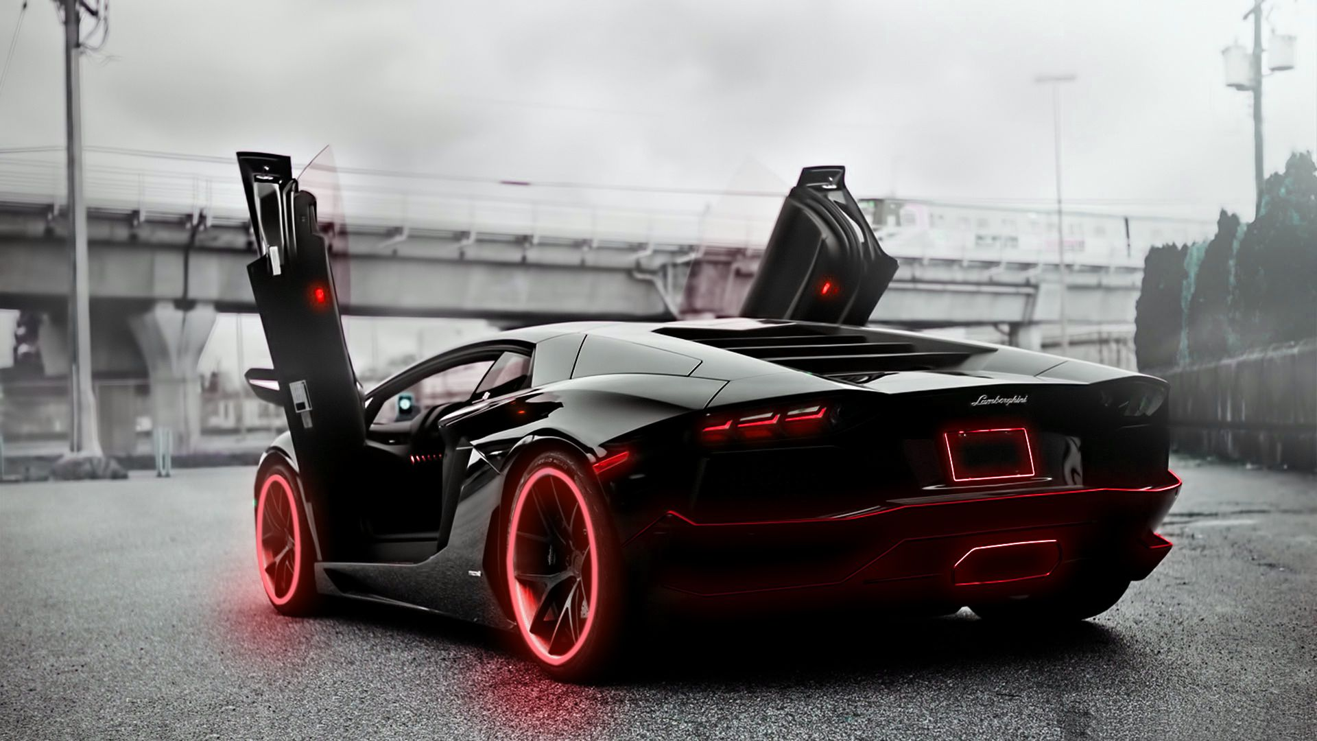 fanciful-tron-lamborghini-aventador-desktop-wallpaper-colorful ...