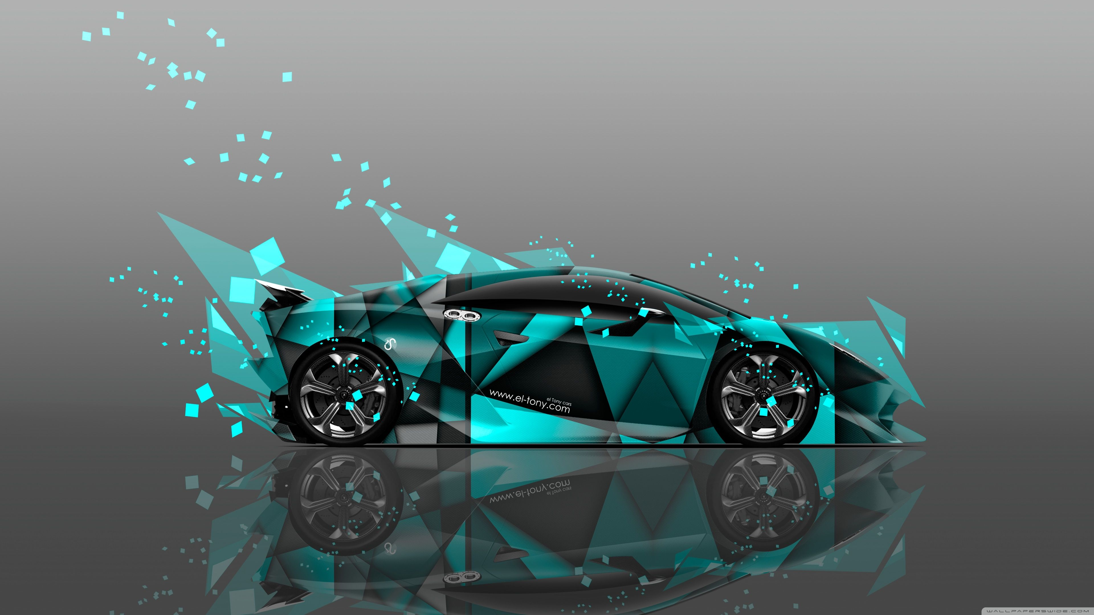 Lamborghini Sesto Elemento Abstract Aerography Car design by Tony ...