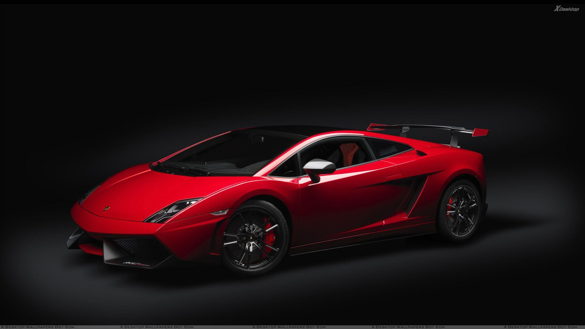Red Color 2012 Lamborghini Gallardo Lp 570 Wallpaper